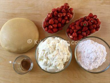 ingredienti crostata ricotta e fragoline
