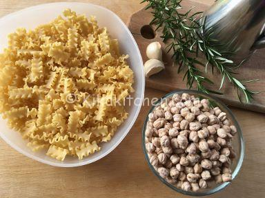 ingredienti pasta e ceci