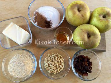 ingredienti ripieno strudel di mele