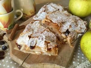 Strudel di mele ricetta facile passo passo