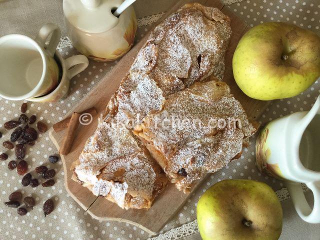 strudel di mele ricetta originale