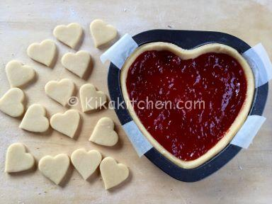 crostata san valentino