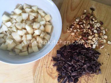 dolci pere e cioccolato