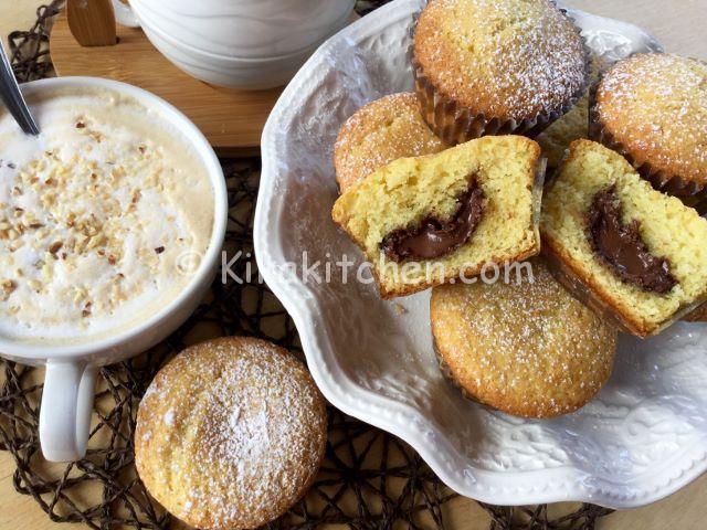 muffin ripieni di nutella ricetta