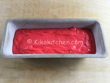plumcake cuore rosso ricetta