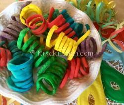 Stelle filanti dolci per Carnevale
