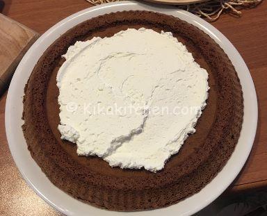 crostata morbida cioccolato panna