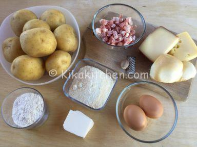ingredienti crostata di patate