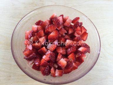 macerare le fragole