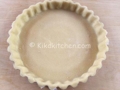 base crostata al cioccolato