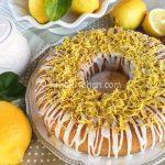 Ciambella al limone con glassa al limone. Ricetta passo passo