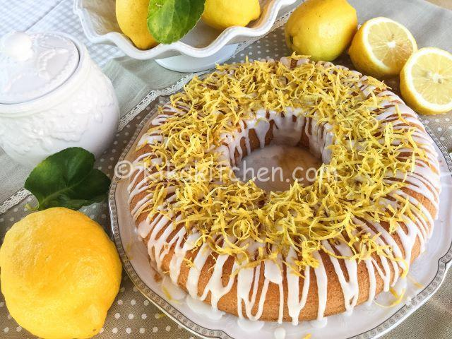 ciambella al limone 2 uova