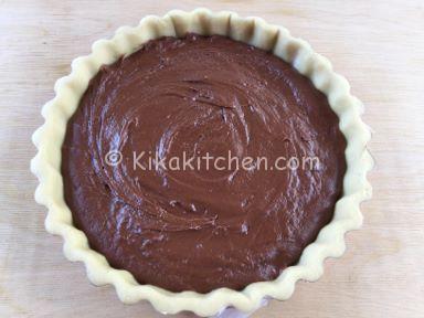 crostata al cioccolato ricetta