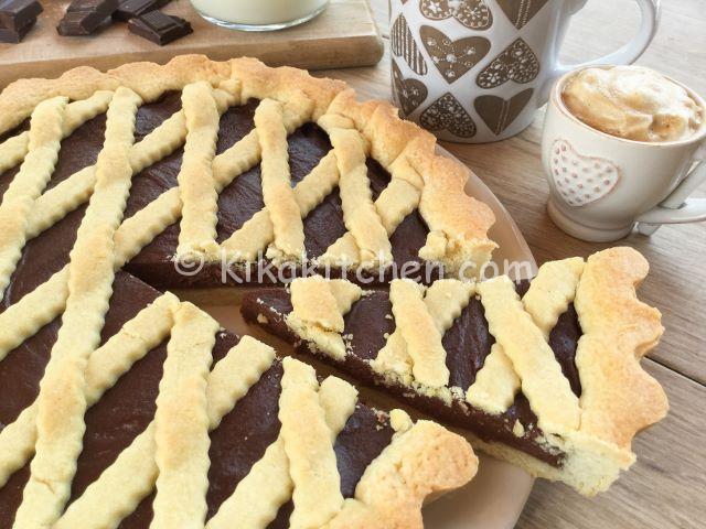 crostata con il cioccolato