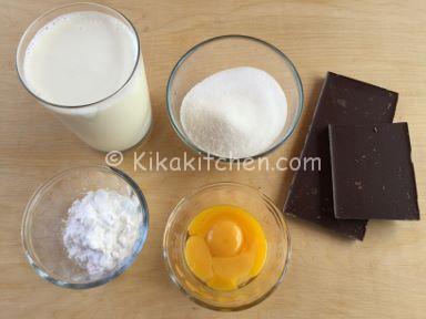 ingredienti crostata al cioccolato
