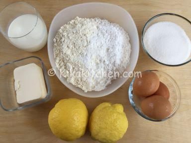 ingredienti torta al limone