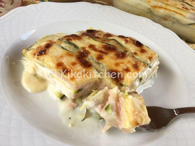 parmigiana bianca di zucchine ricetta
