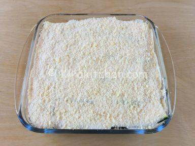 parmigiana bianca di zucchine verdi