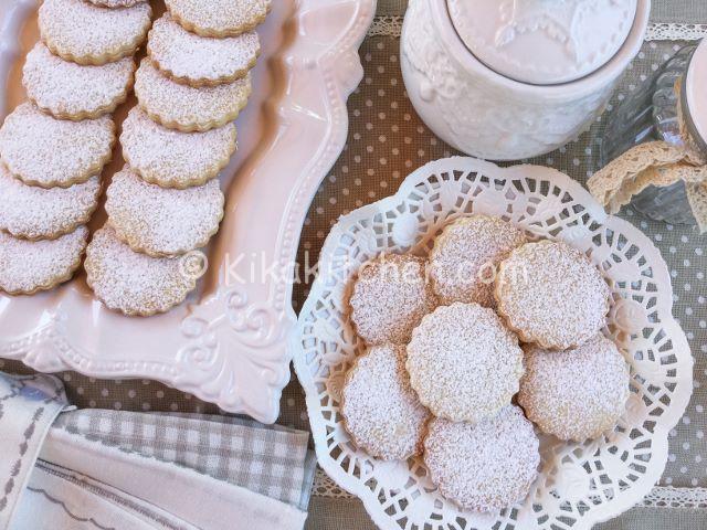 ricetta biscotti senza uova
