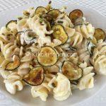 Pasta zucchine e philadelphia. Ricetta facile