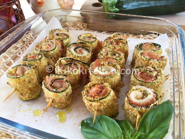 Involtini di zucchine gratinate ricetta facile e veloce for Cucinare qualcosa di veloce