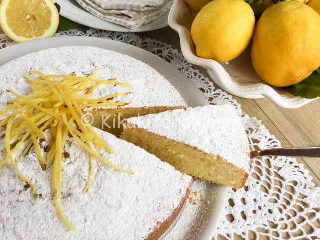 Torta al limone morbida e soffice. Ricetta passo passo
