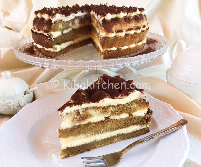 torta tiramisù facile