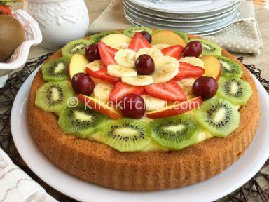 crostata morbida frutta mista