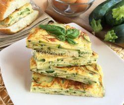 Frittata di zucchine ricetta facile e veloce