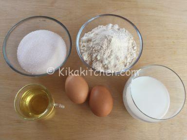 ingredienti crostata morbida alla frutta