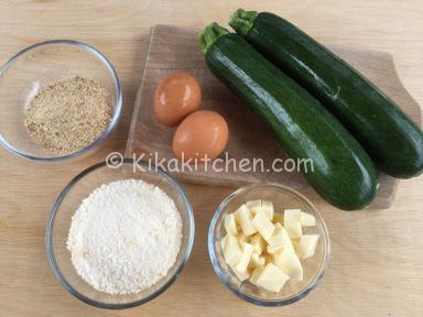 ingredienti polpette di zucchine