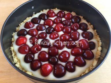 ricetta sbriciolata alle ciliegie