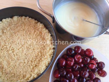 sbriciolata alle ciliegie ricetta