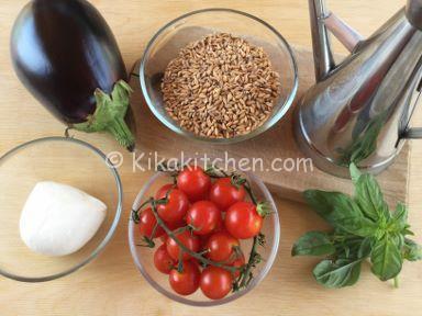 ingredienti insalata di farro
