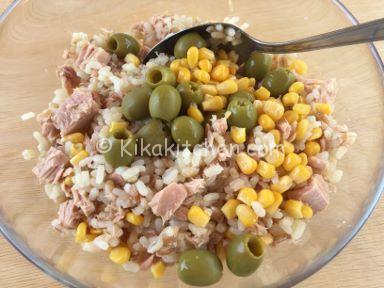 insalata di riso farro e orzo leggera