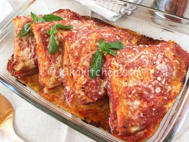 ricetta crepes alla parmigiana