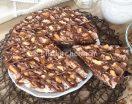 Torta fredda mascarpone e nutella. Con base di riso soffiato