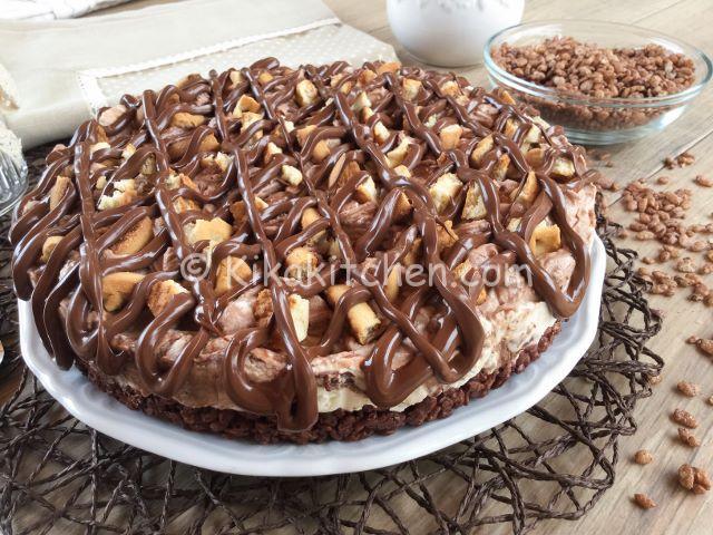 torta senza forno con nutella