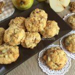 Biscotti pere e noci fotoricetta facile e veloce