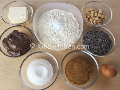 ingredienti torta cookies
