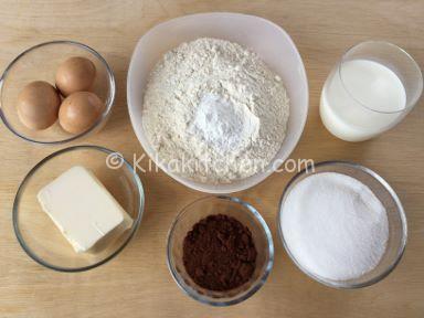 ingredienti torta marmorizzata