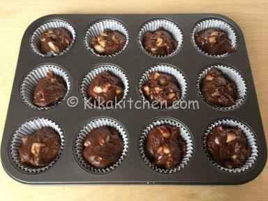 ricetta muffin pere e cioccolato