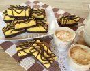 Tegolini fatti in casa con morbida pasta biscotto. Ricetta facile