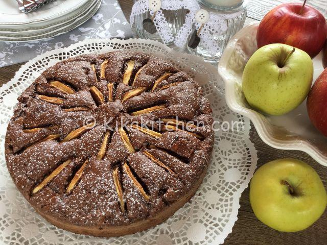 torta cioccolato mele