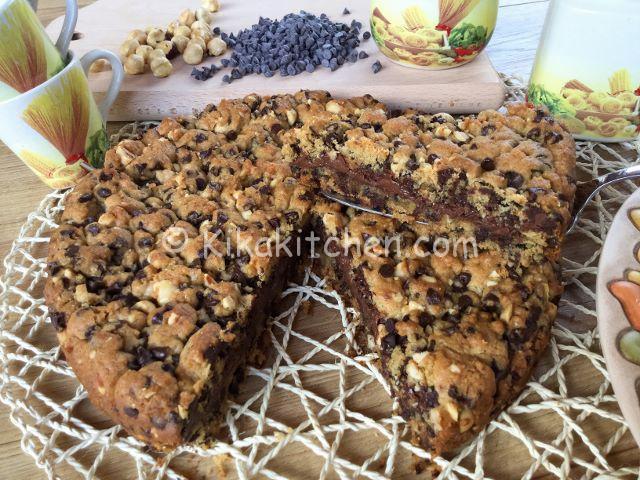 torta cookies farcita