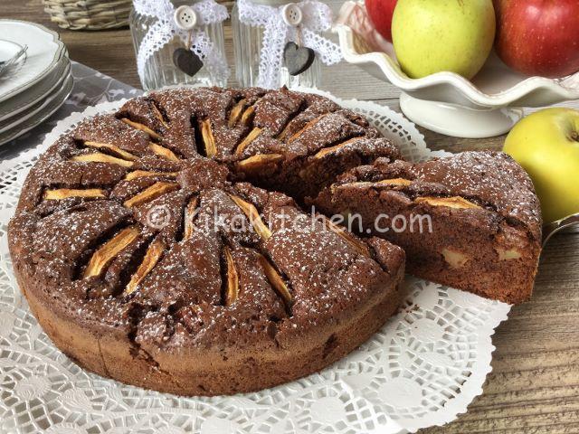 torta di mele e cioccolato ricetta