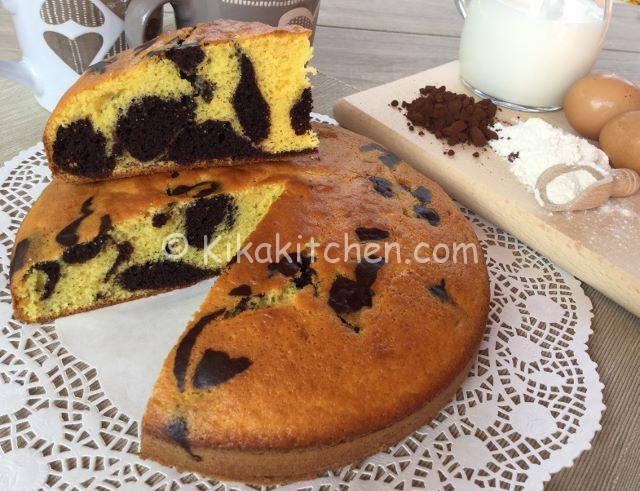 torta marmorizzata soffice