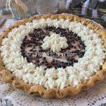 Crostata di ricotta con o senza cioccolato