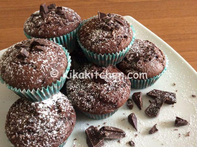 Muffin al cioccolato bimby ricetta facile