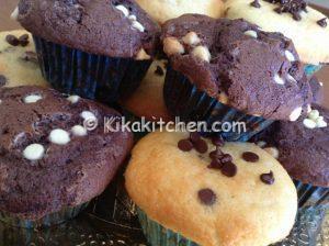 Muffin con gocce di cioccolato bimby ricetta facile